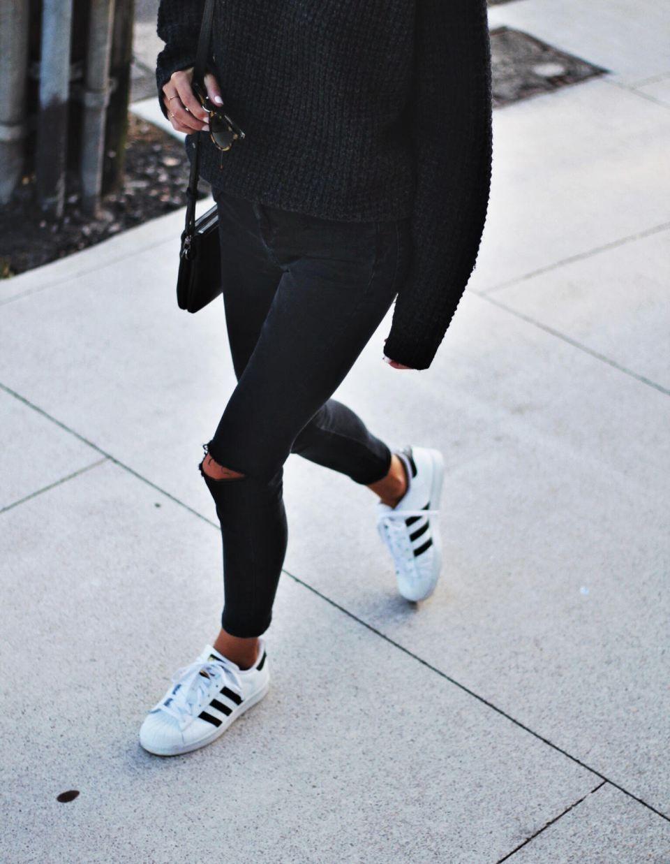 Superstars Outfit En Moda Adidas …Outfits 2019 TrabajoY Ropa wkuTlPXOZi