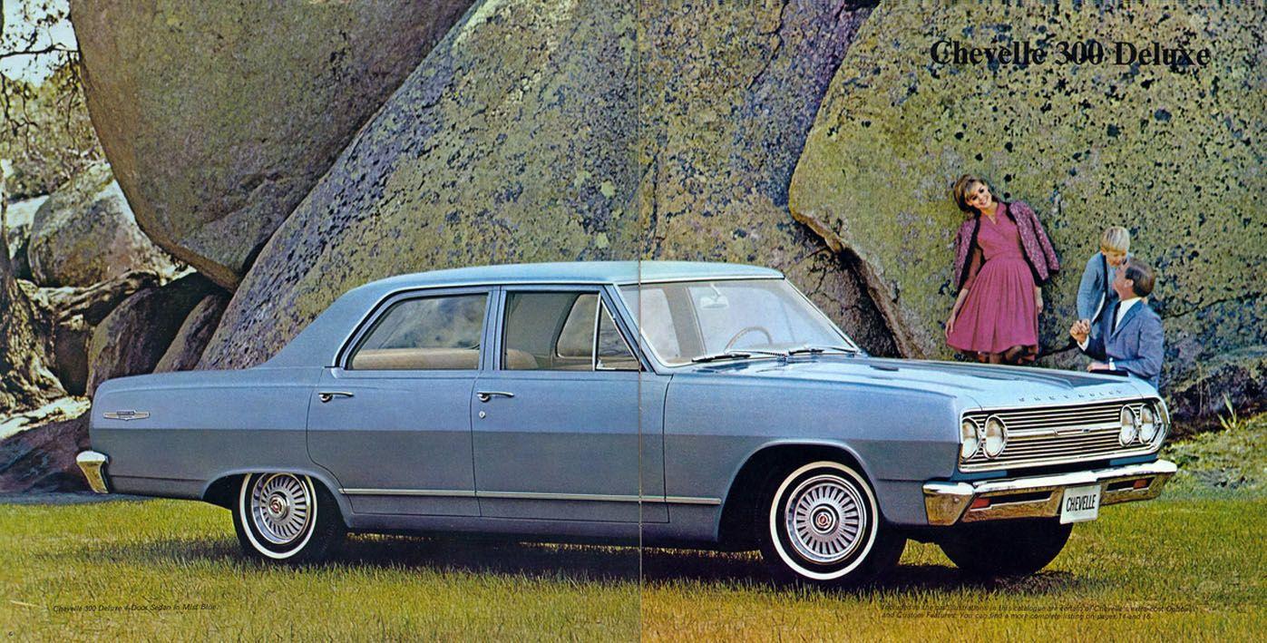 Print Ad 1965 Chevelle 300 Deluxe 4 Door Chevy Malibu Chevrolet Chevelle Chevelle