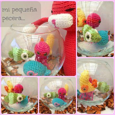 Peces Amigurumi ~ Patrón Gratis en Castellano | Broches crochet ...
