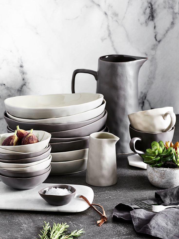 Modern Basics Tabletop Bedbathntable Ceramic Tableware Crockery Creative Home Decor