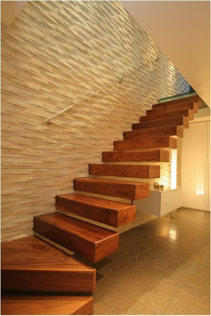 Floating Stairs by Fine Edge Designs
