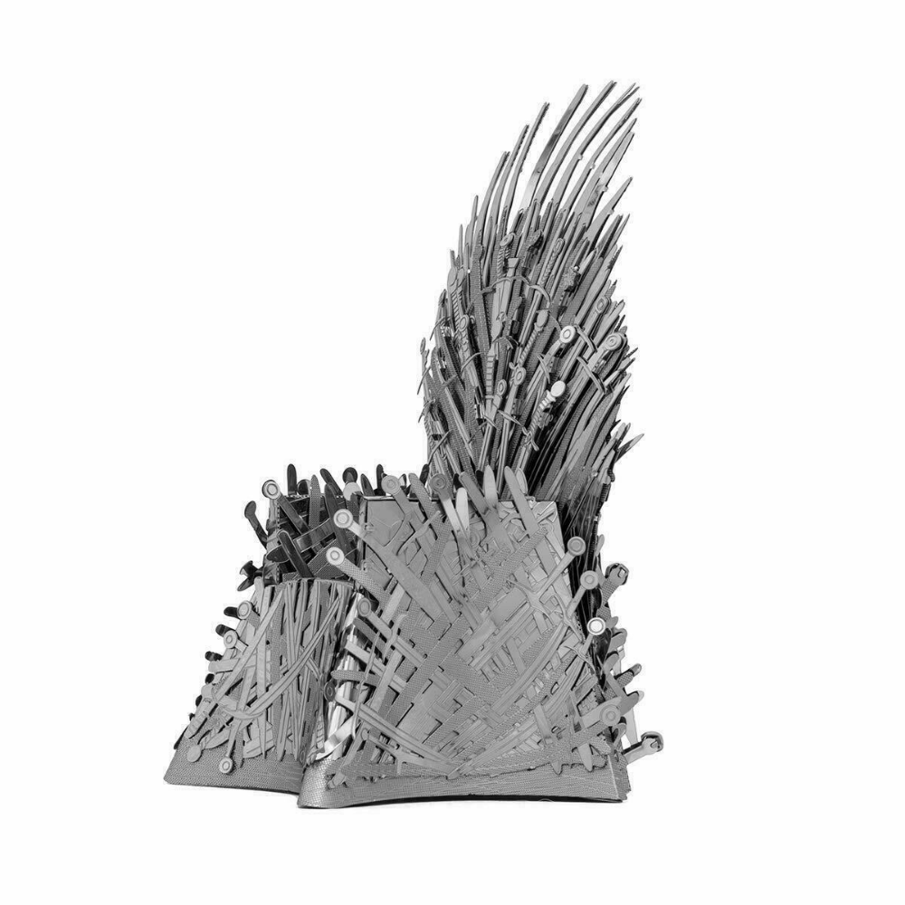 Fascinations Metal Earth Iconx Game Of Thrones Iron Throne 3d Metal Model Kit 32309013931 Ebay Metal Earth Metal Model Kits Metal Models