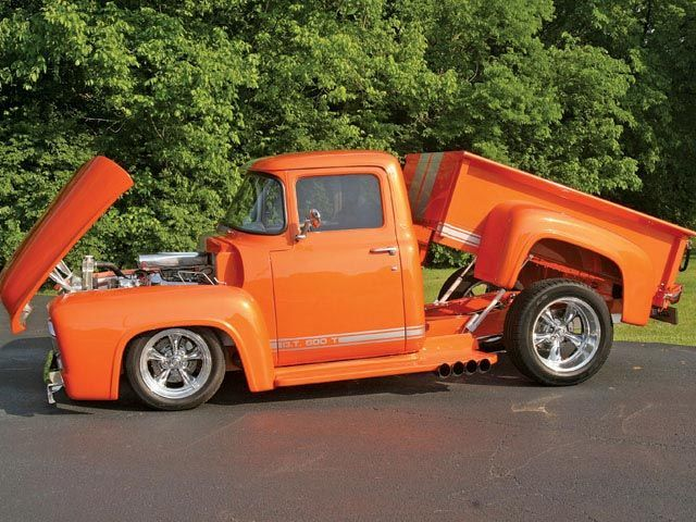 Lift bed 56 Ford | Ford trucks, Old pickup trucks, 1956 ...1956 Ford F100 Lifted