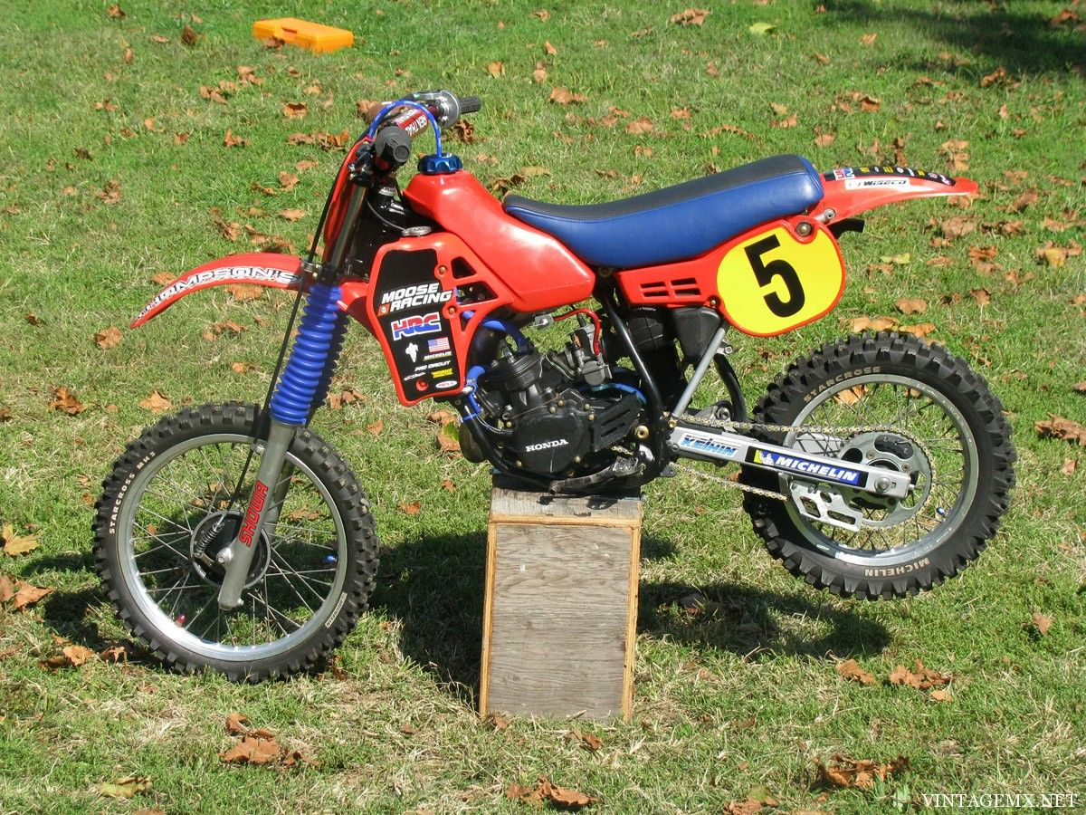 1984 honda cr80 i put this together for my boys took about 2 yrs and
