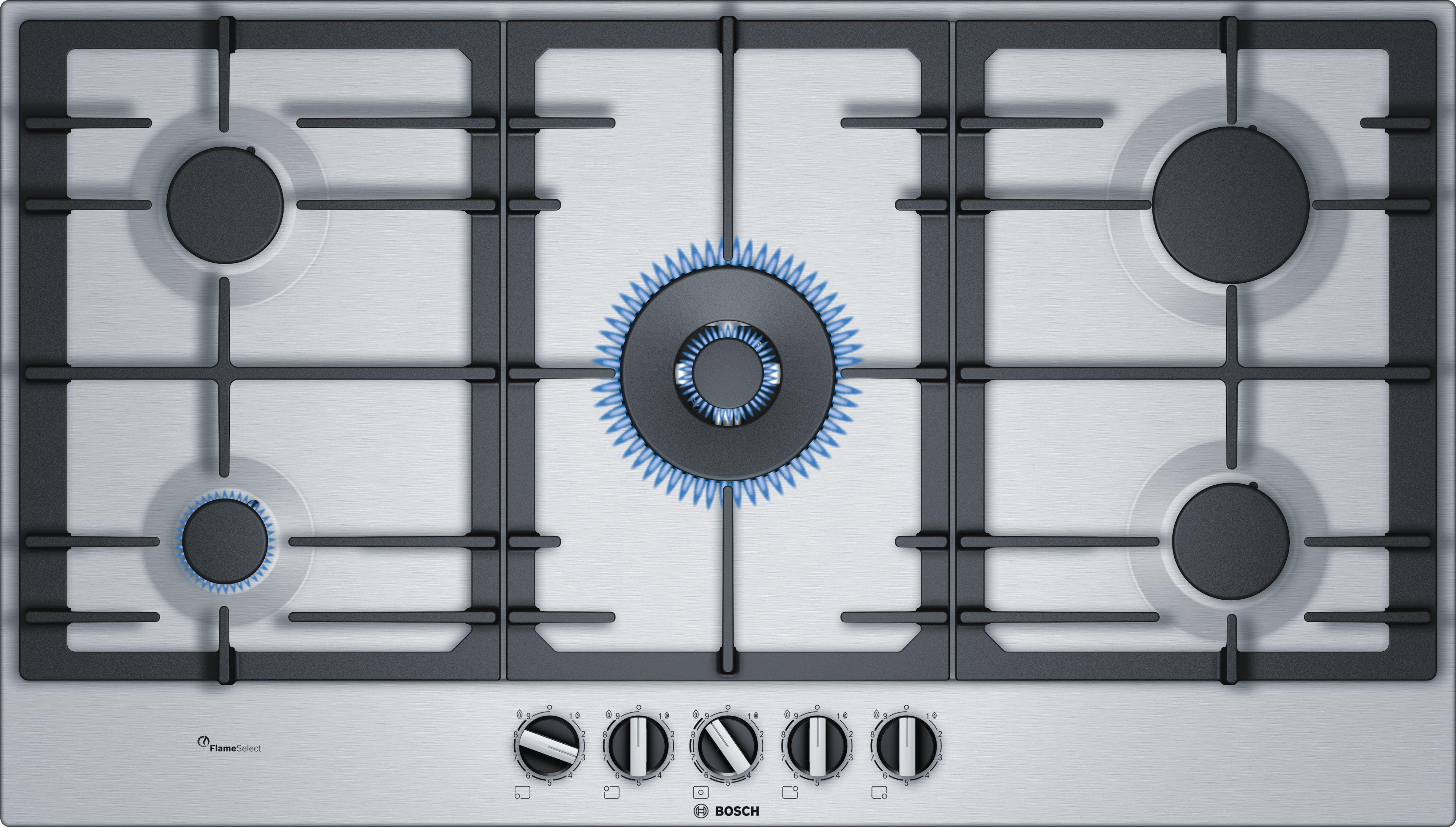 Bosch Pcr9a5b90 Gas Hob Gas Hob Gas Cooktop Hobs