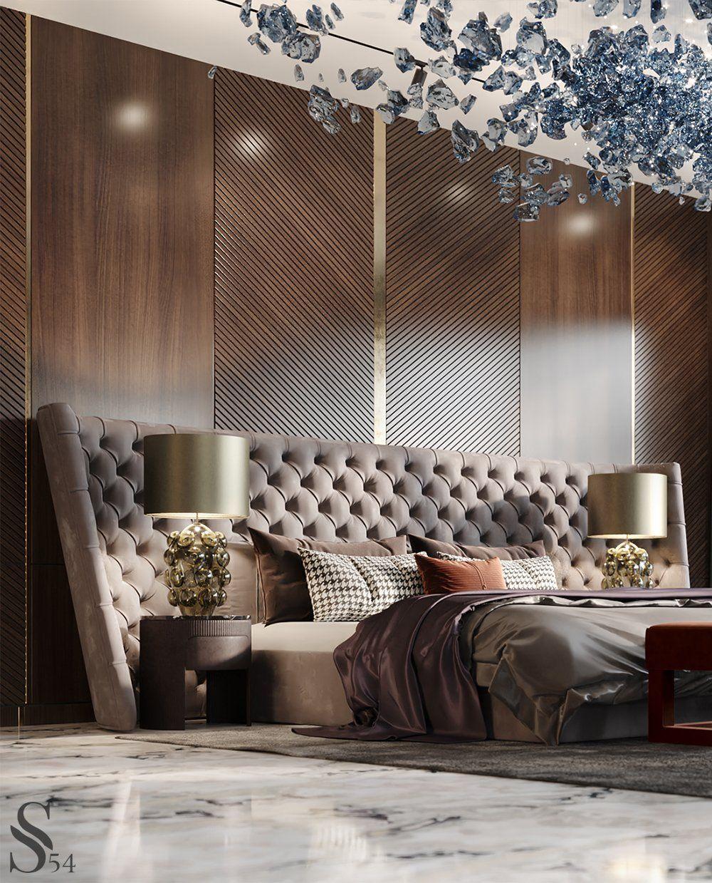 Лучшие интерьеры Studia 54 портфолио Modern Bedroom Interior Modern Luxury Bedroom Living Room Decor Inspiration