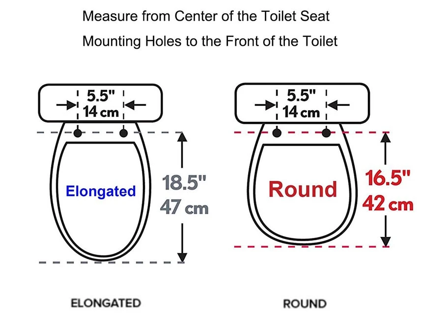 Premium One Click Toilet Seat With Cover Easy Installation And