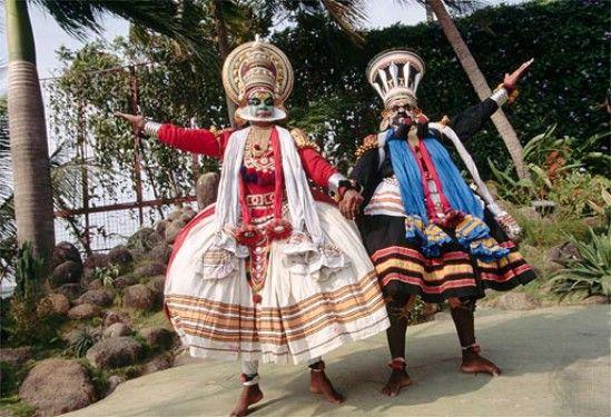 Folk dances of south India -