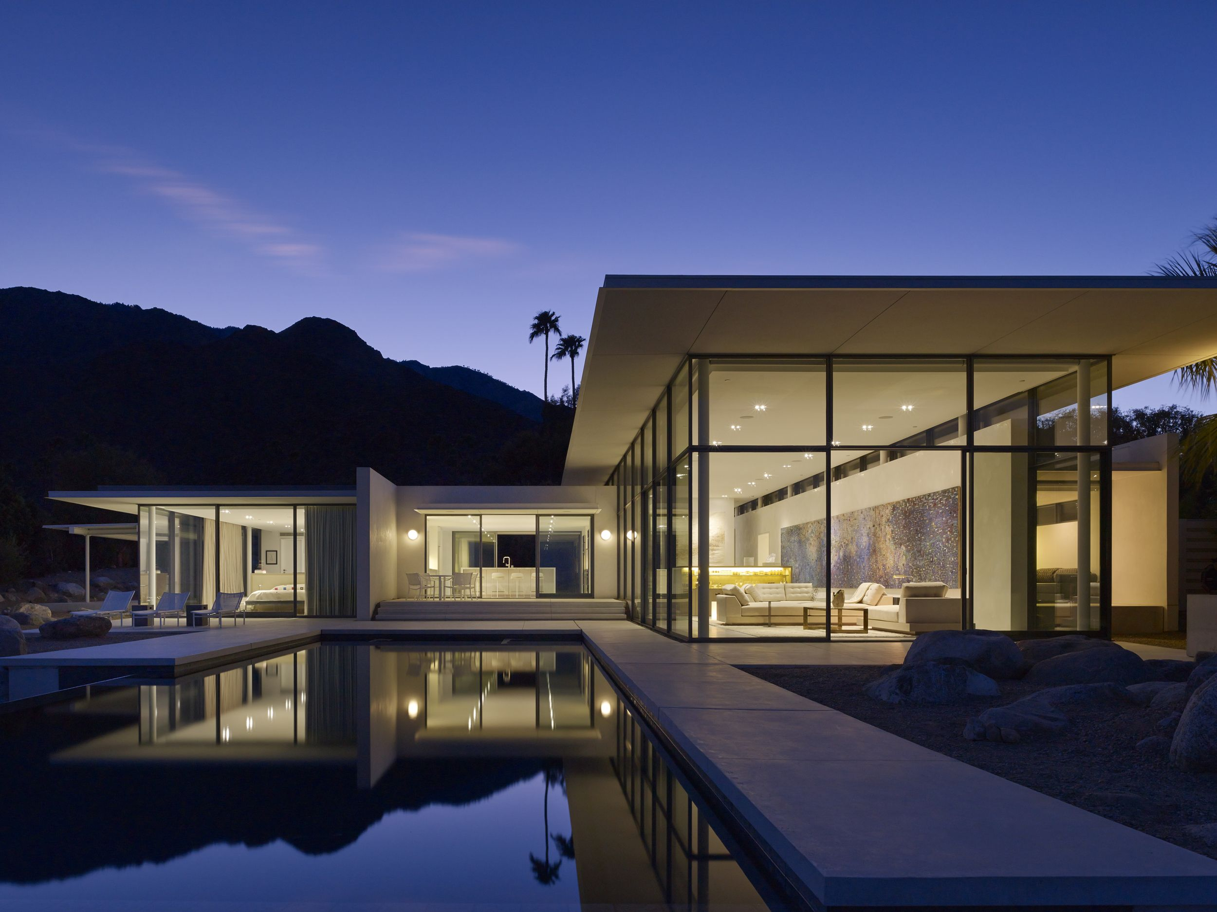Panorama House Booth Hansen Architects Palm Springs, Ca Return To