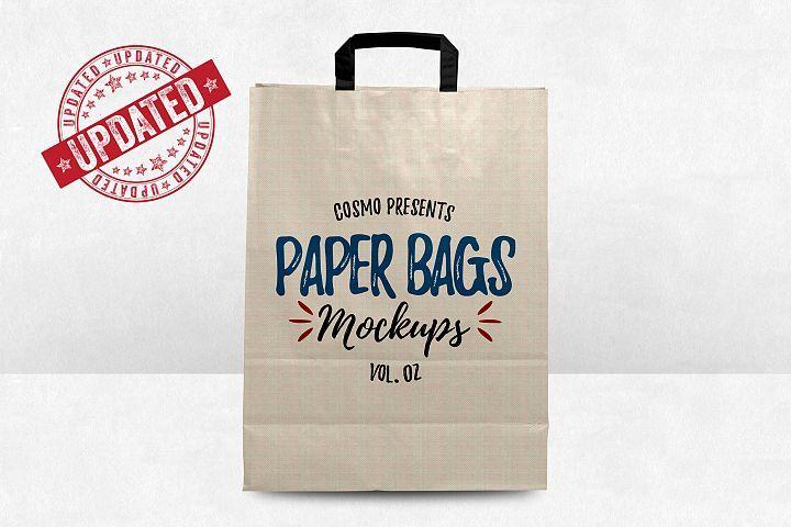 Download Paper Bags Mockups Vol 2 5150 Mockups Design Bundles Bag Mockup Mockup Design Paper Bag