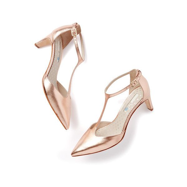 Boden Beatrice Mid Heel ($134) ❤ liked