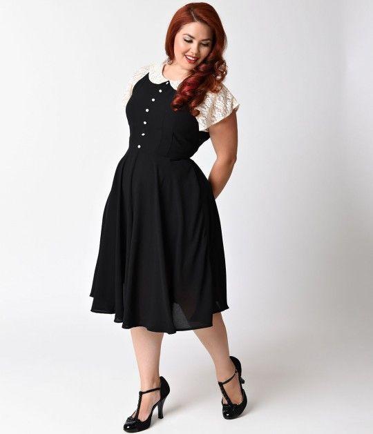 1940s style dress plus size