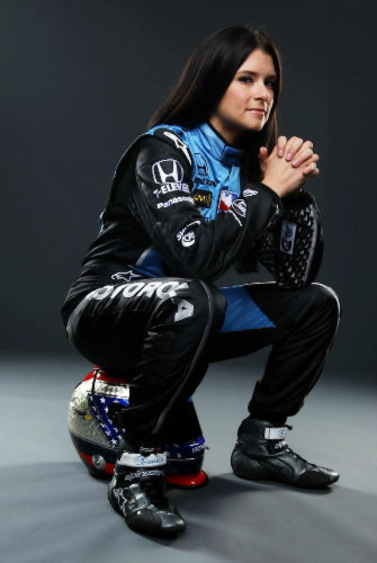 Danica Patrick first woman to win IndyCar series NY