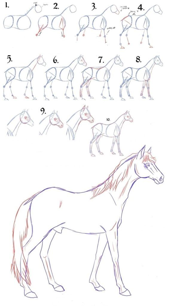 Easy Step By Step 9 Art Draw To Practice For You Page 8 Of 9