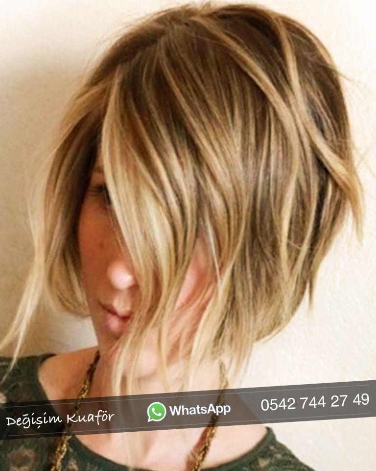 2019 Sac Kesim Modelleri Bayan Degisim Kuafor Sac Kesim