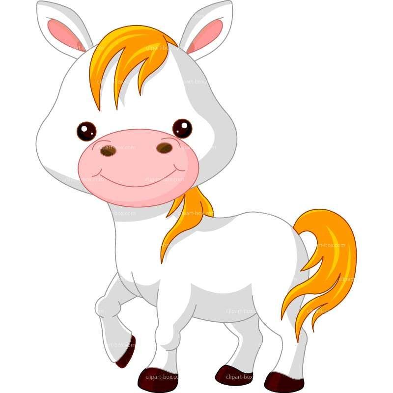 CLIPART FARM HORSE | Royalty free vector design