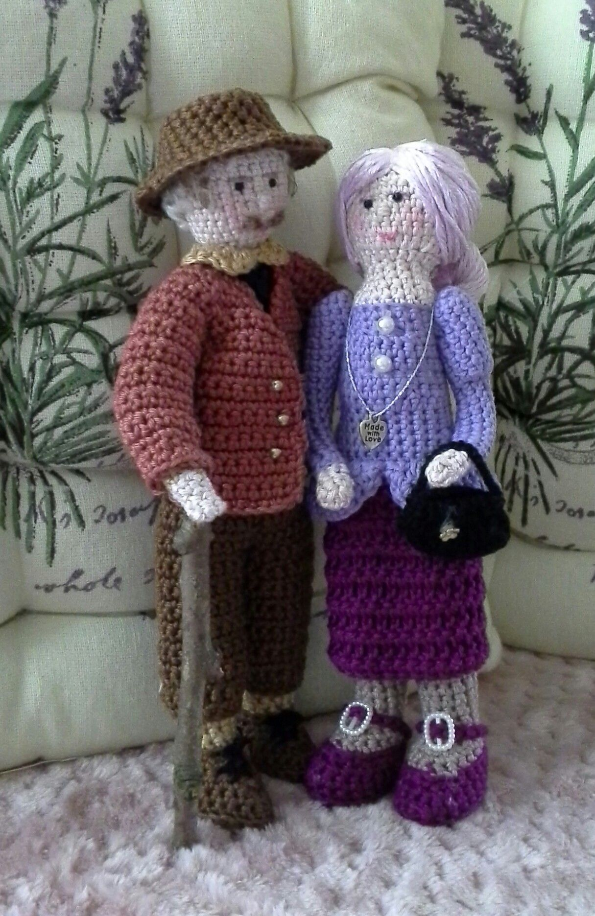 Opa en oma handmade by Annie swart | Amigurumi | Pinterest | Häkeln ...