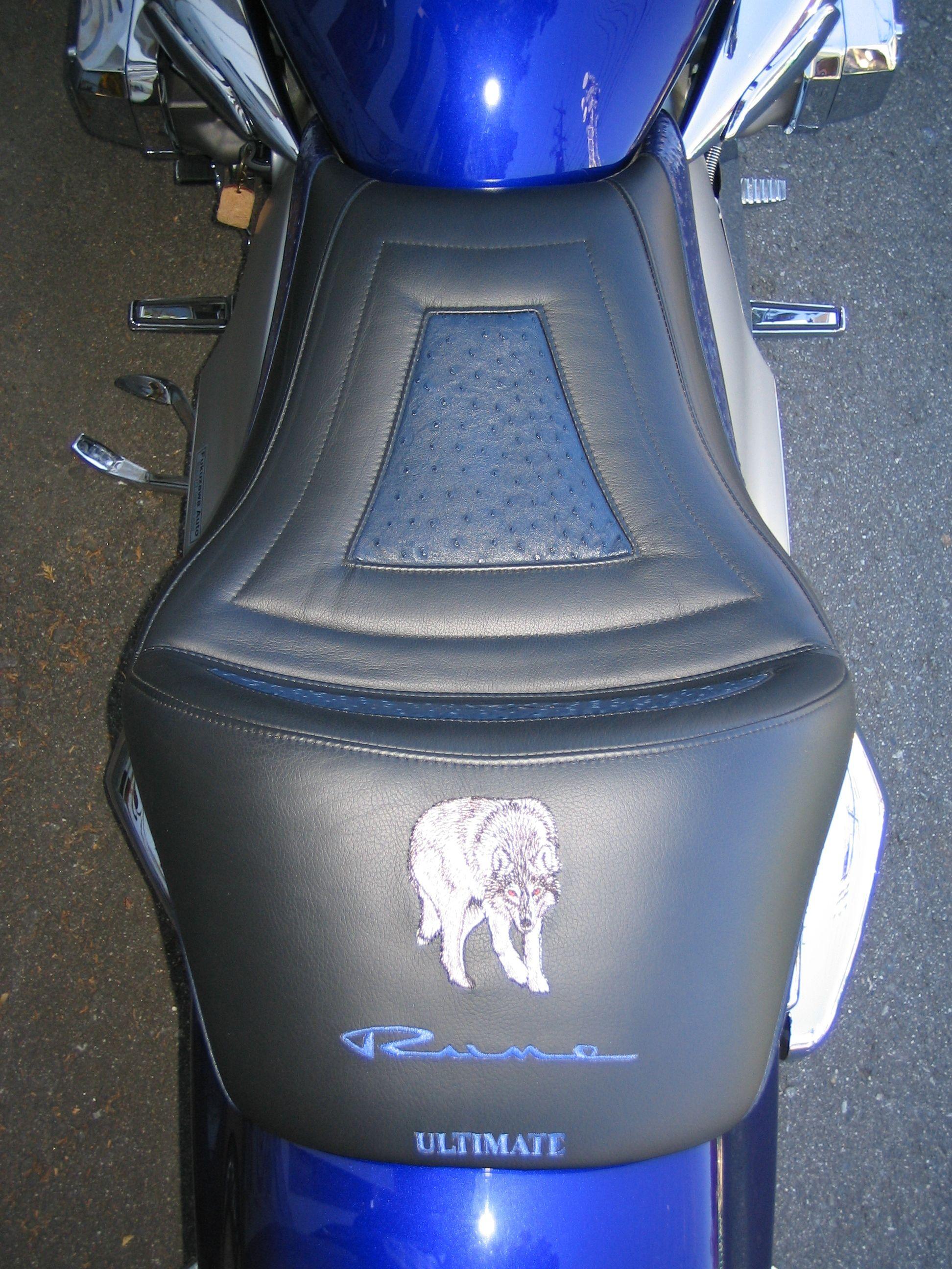 Honda Rune seat, Standing Wolf