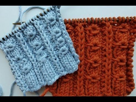 Knit With Elizzza Knitting Stitch Donut Ribs Youtube Nice