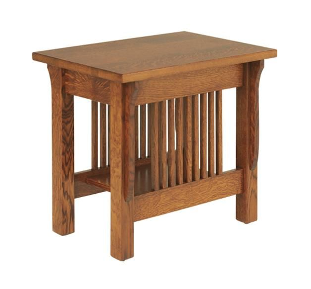 Amish Lancaster Mission Small End Table Small End Tables Amish