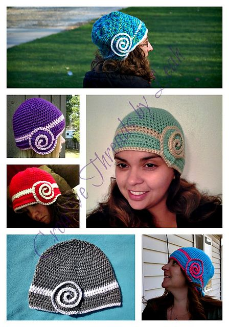 Nautilus Cloche Teen-Adult pattern by Creative Threads by Leah ...