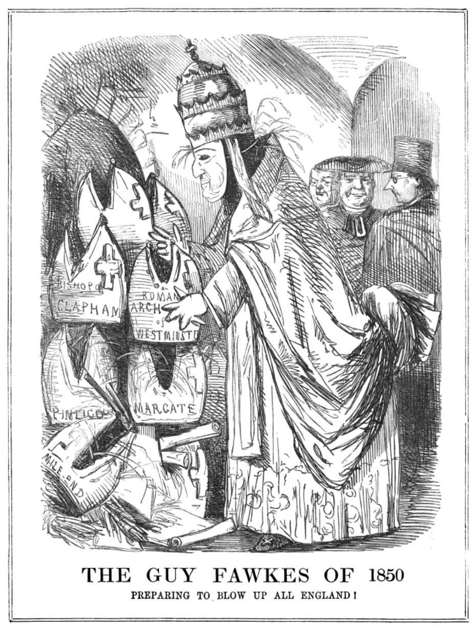 The Guy Fawkes of 1850 - a commentary on the restoration of the ...