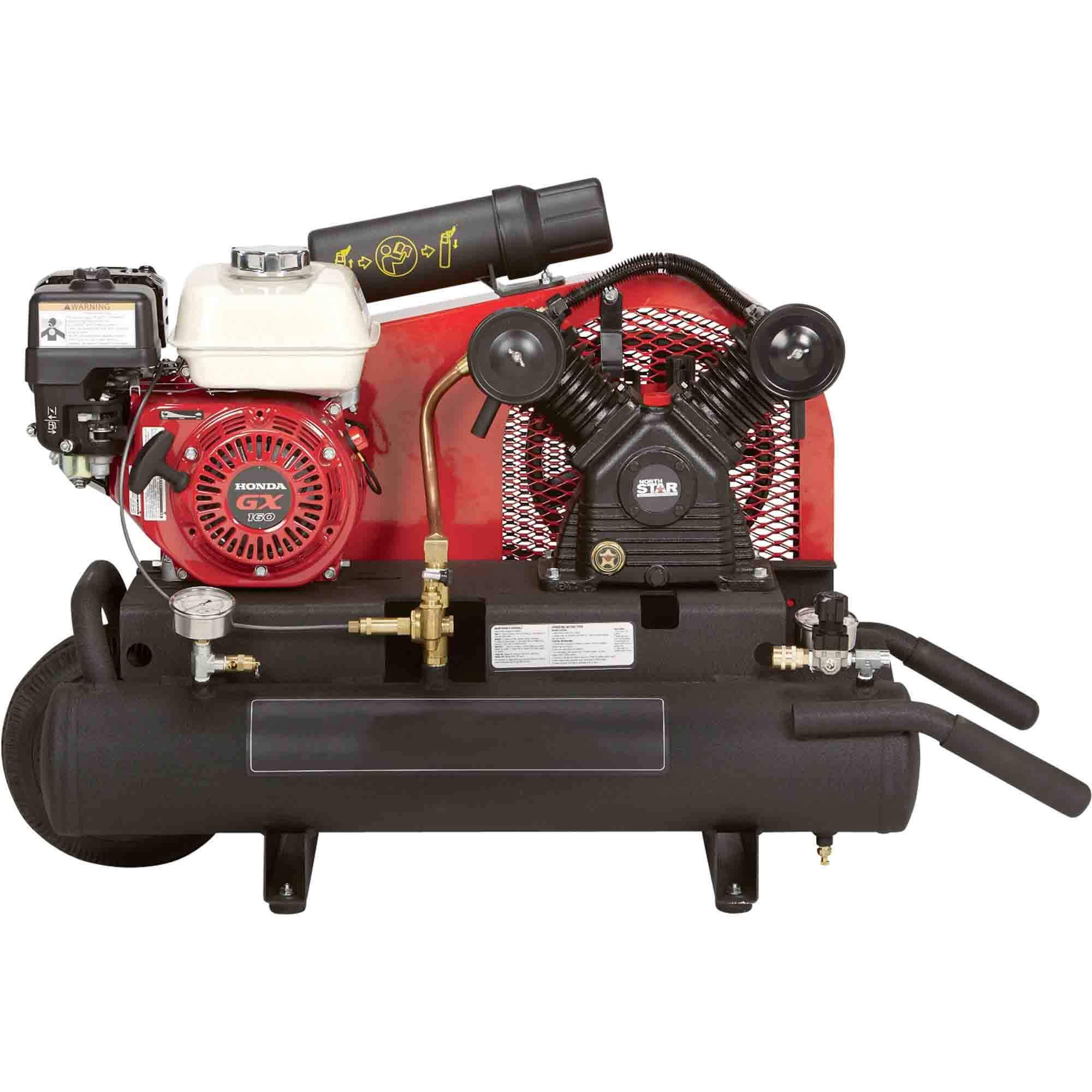 Arlington Rental Company provides air compressor, CFM
