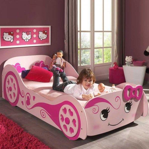 Kinderbett Hearty für Mädchen