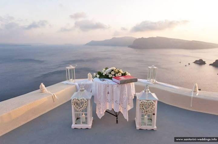 perfect   Santorini wedding, Santorini wedding venue ...