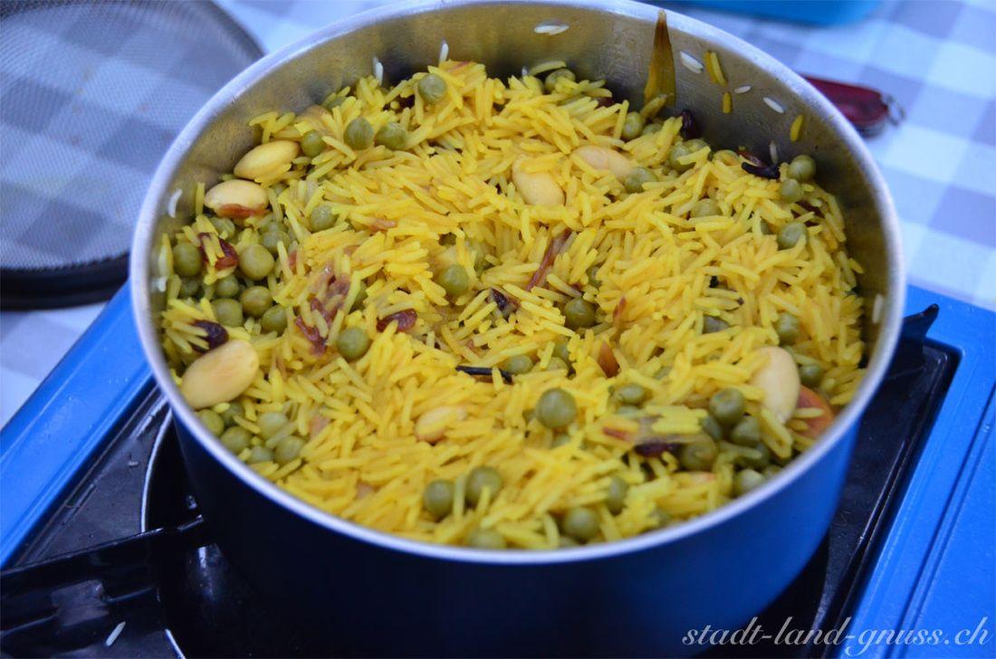 Outdoor Küche Rezepte : Pulao vom campingkocher rezept für outdoorküche rezepte