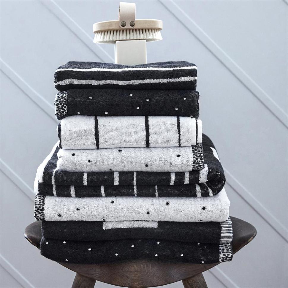 Dotty towelsmall, 50x100 cm Bath towels, Towel, Soft towels
