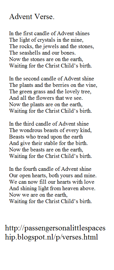 Advent Week One The Light Of Stones Verse Advent Prayers Advent Christmas Traditions
