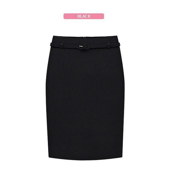 Long Pencil Skirts Womens Business Suit Formal Fashion Knee Length Pencil Skirt OL Skirts Saias Femininas with Belt S-XXL