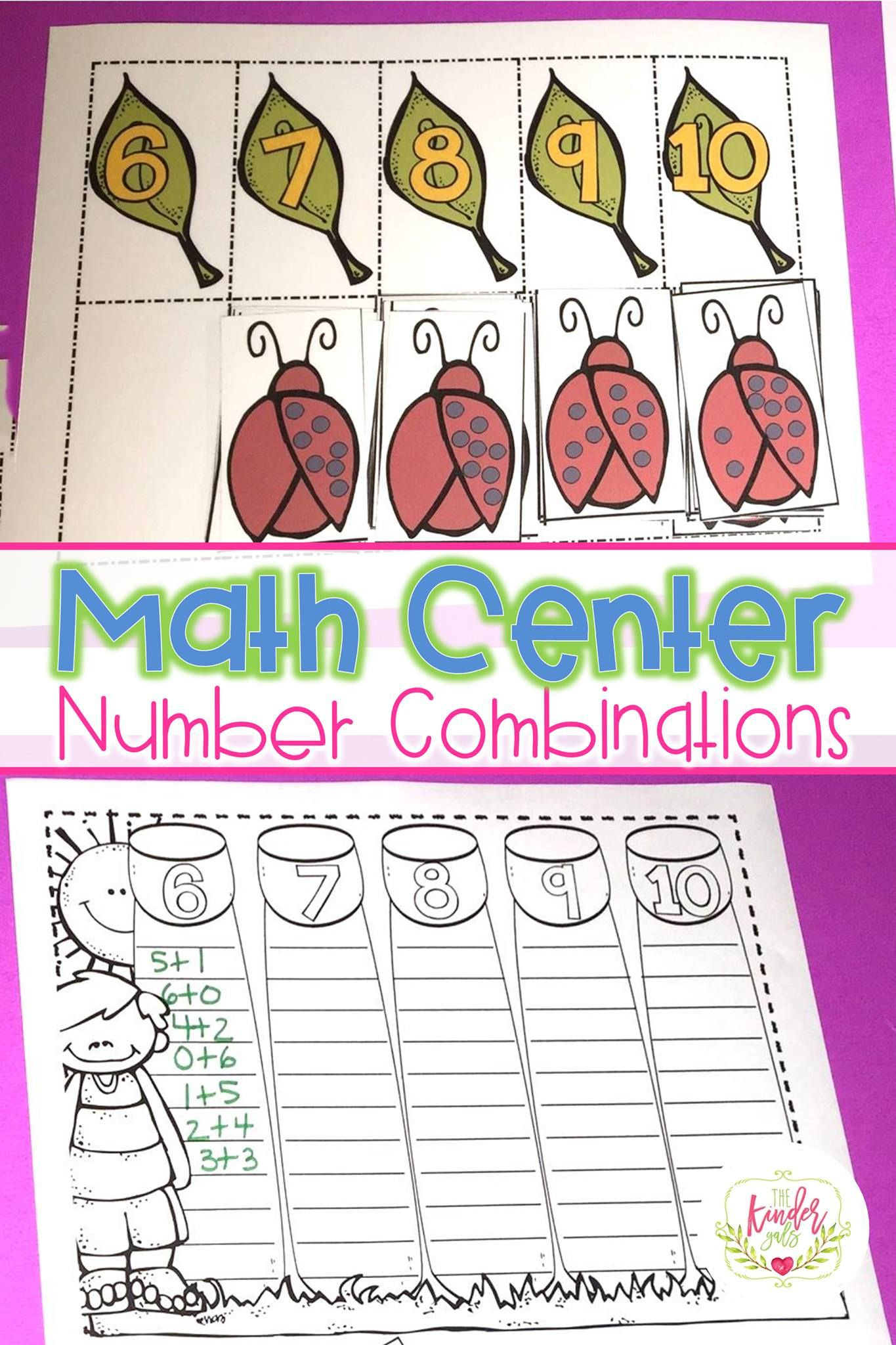 Small Group Math Di Easy As Pie Unit 5 Num Combo 6 10 By