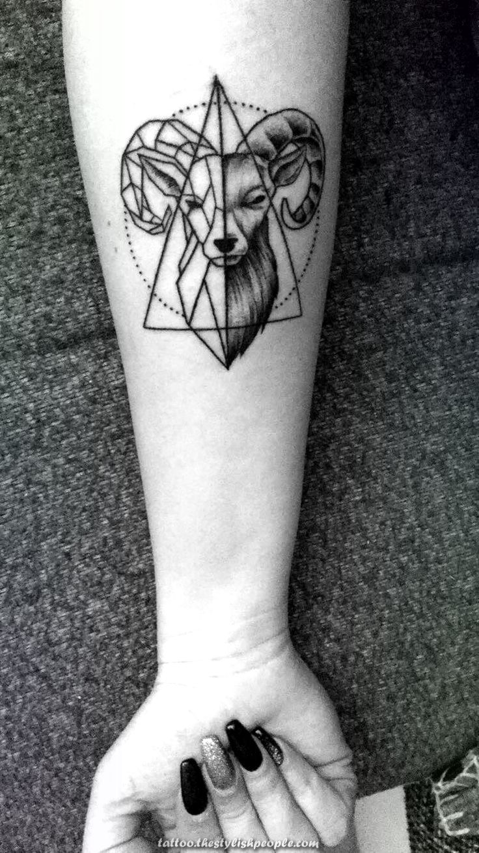 Aries Aries tattoo, Horoscope tattoos, Aries zodiac tattoos
