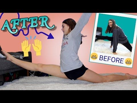 We Stretched Our Splits Every Day for a Week - YouTube | { Fitness