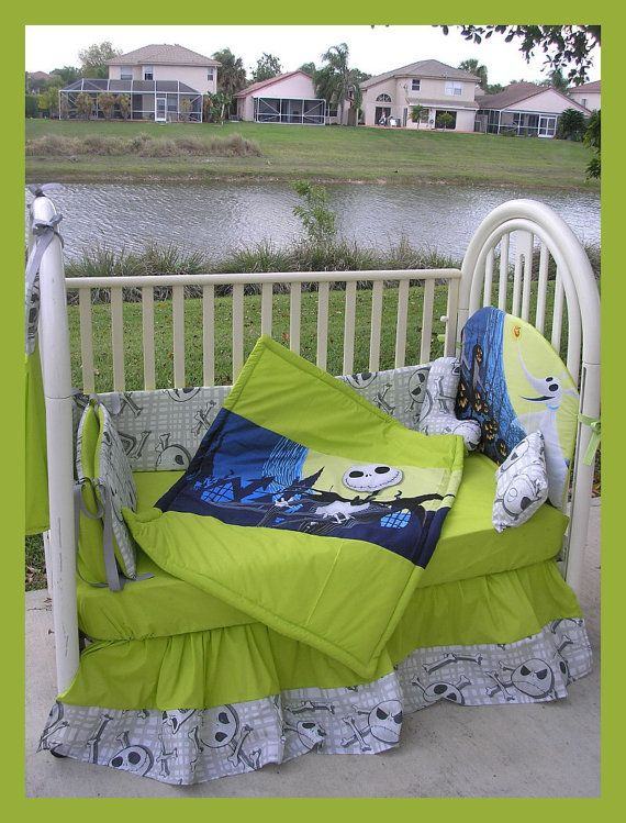 New Nightmare Before Christmas Jack Baby Crib By Gothbabies 27500