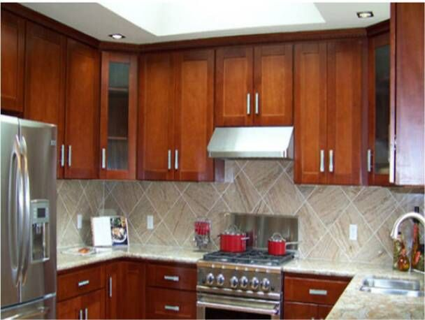 Image Result For Cherry Cabinets Shaker Style