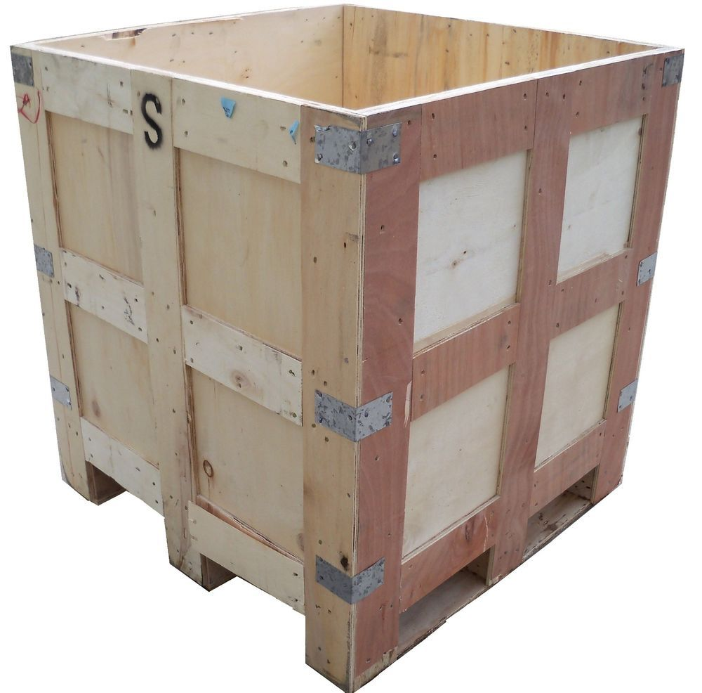 Exportable Wooden Shipping Container, Box, Wood Crate ...