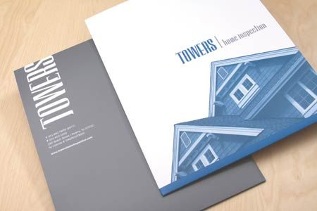 Creative Presentation Folder Design Award-winning pocket folder - resume presentation folder