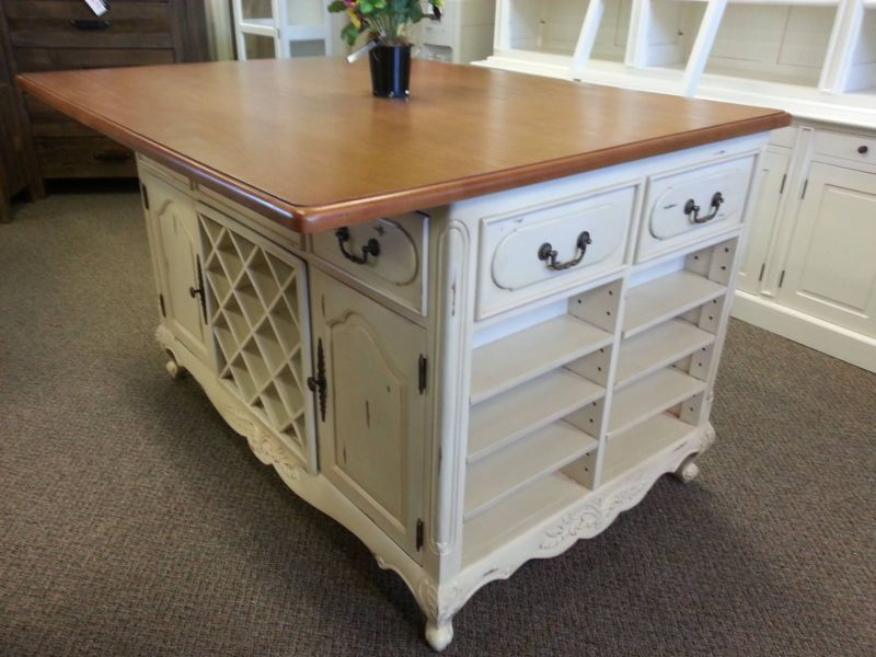 Kitchen Island Bench French Provincial