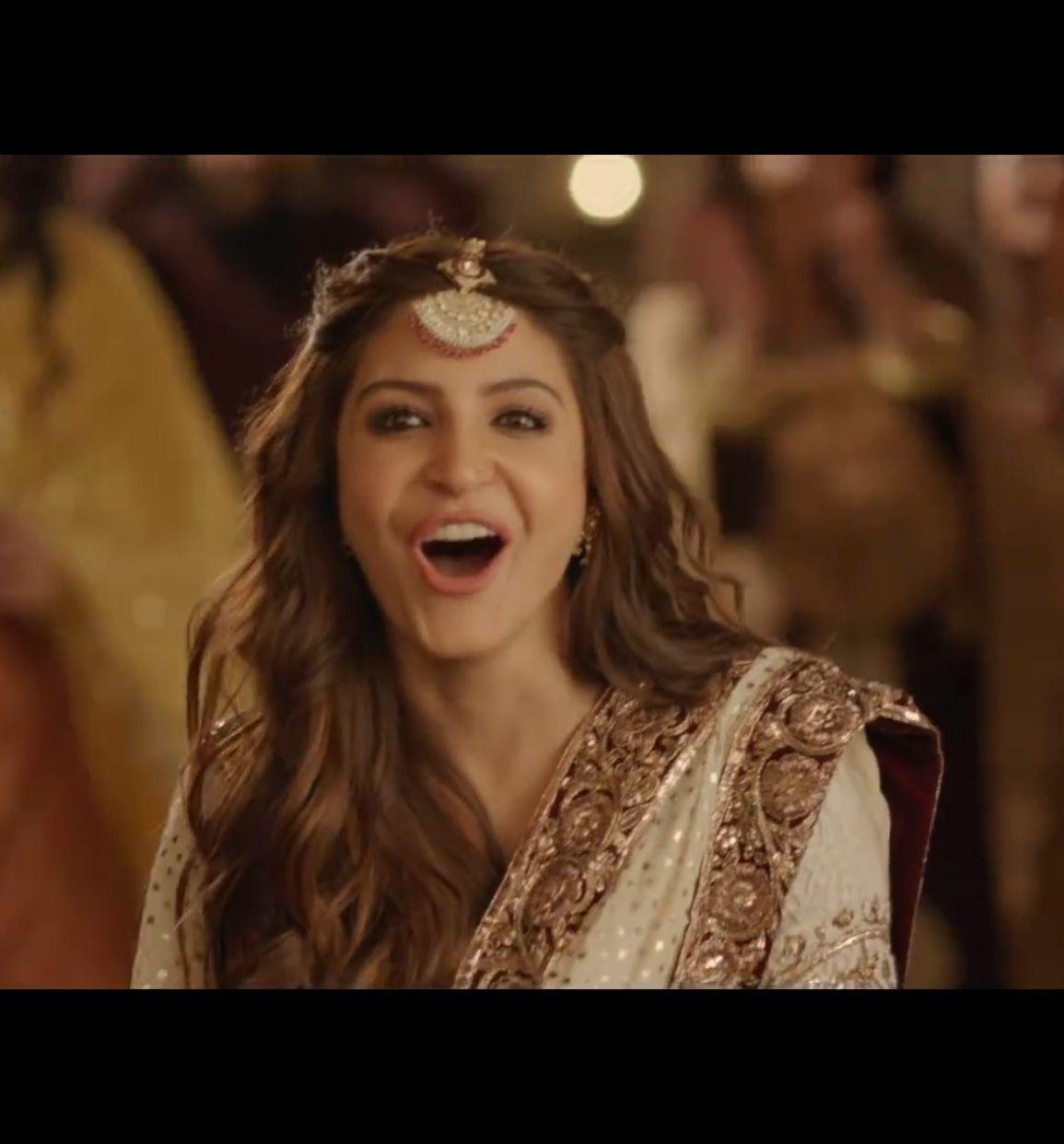 1ae5bda250d Anushka Sharma in Cutiepie   Lacha suit in 2019   Heavy dresses ...