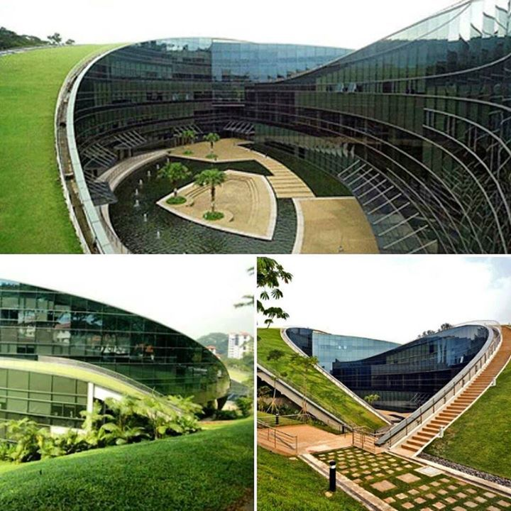 Nanyang School of Art Arquitetura contemporânea Orgânica e sustentável. #sustentabilidade #verde #arquiteturaVerde #orgânico #assimétrico #topdesign #interiordesign #homedesign #home #design #arquitetura #architecture #decor #project #colorido #perfect #quarto #arquiteto #decoration #bello #rusticidade #contemporâneo #contemporany #cool #buenasnoches #megusta #colors #arte #art by laarquitetura http://ift.tt/1ThJAkT