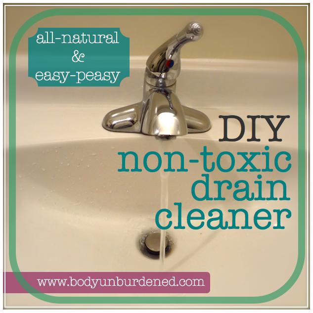 Diy Non Toxic Drain Cleaner Natural Drain Cleaner Drain