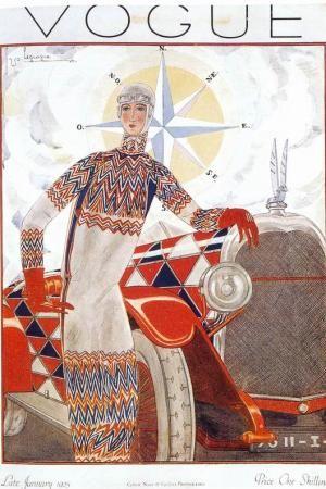 Sonia Delaunay for Vogue 1925
