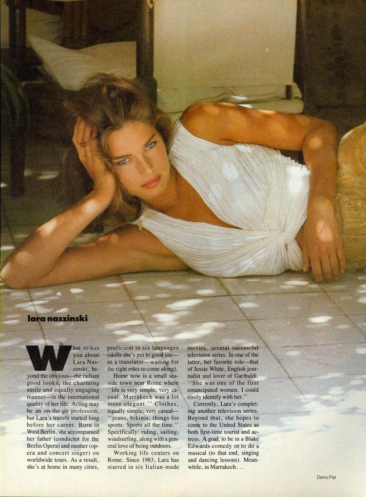 Vogue US, December 1987, Photographer : Denis Piel, Model ...