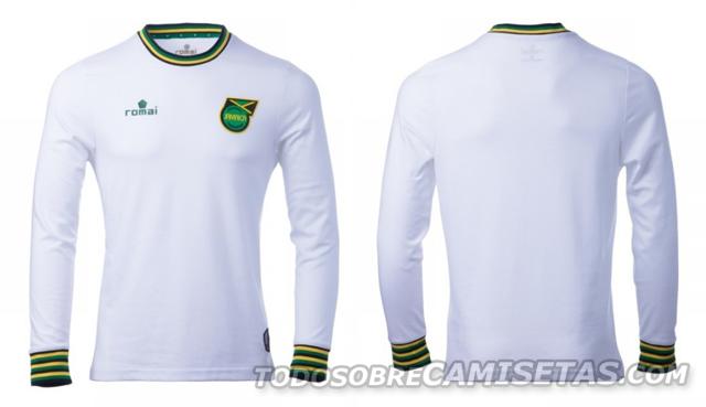 1a780a36e7bbb Línea casual de la Selección de Jamaica por Romai Sports