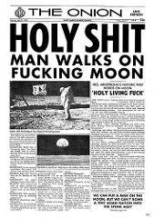 Holy shit. Man walks on fucking moon. via /r/geek