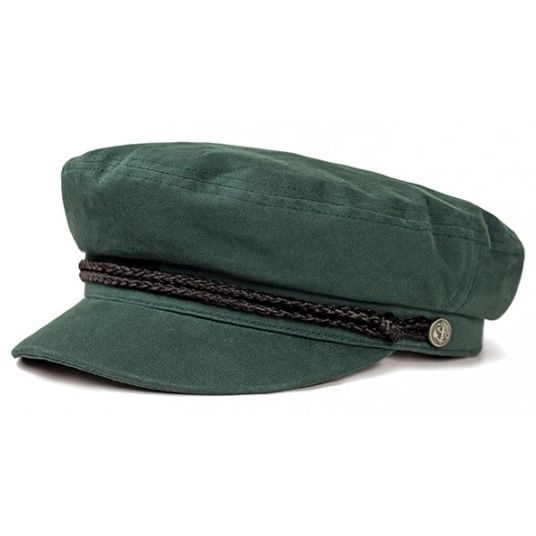 5fc42fad20c Fiddler Hat by Brixton- HUNTER GREEN