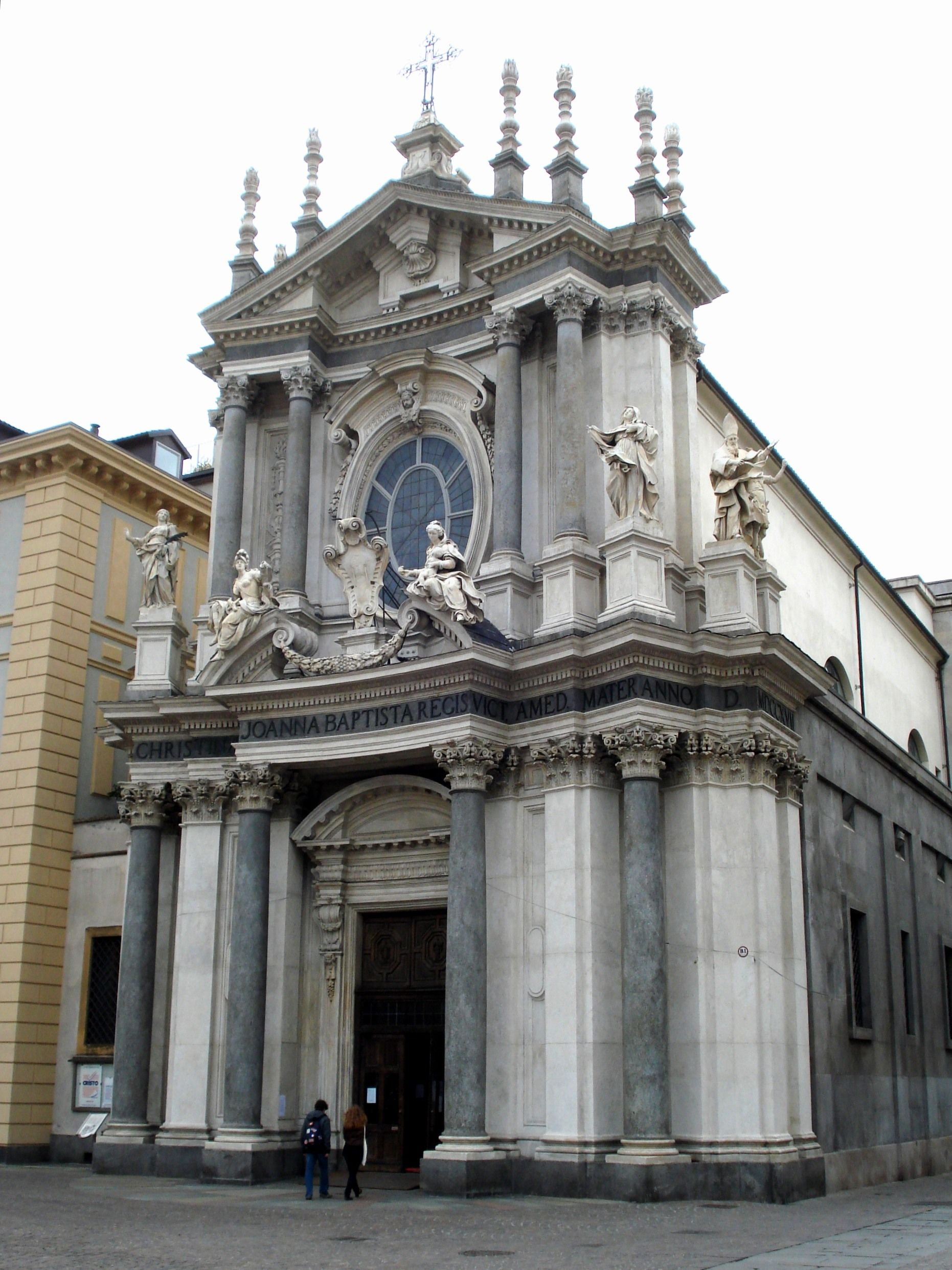 Italian baroque architecture piedmont church of s for Baroque style church